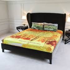 personalised bed sheets with quilt and pillows design your own bedding for unique style