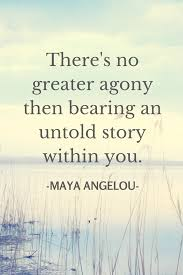 The Power Of Story The Inspiration Of Maya Angelou Big Voice Pictures