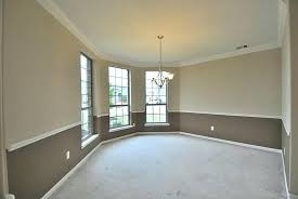 dining room colors with chair rail inspirational two tone bedroom paint ideas kosziub