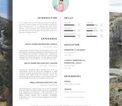 Creative Professional Resume Templates Colorful Creative Resume