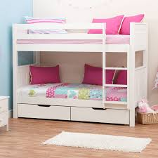 Bunk Bed Stompa Classic Kids White Bunk Bed