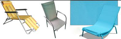 outdoor chair fabric mesh textilene 95
