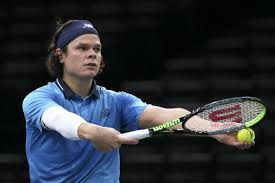 An ace of a shot today, thanks to matt's work with harry rosen; Milos Raonic Wins Canadian Male Player Of The Year Award