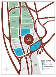 The Rose Seating Chart Pasadena 60 Explanatory Rose Bowl Football Seating Chart