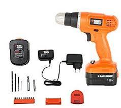 black and decker drill. black and decker epc12k2 12-volts cordless drill (orange)