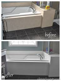 how to paint cultured marble tub surround cleverlyinspired 1