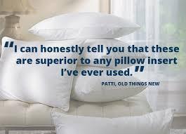 pillow insert review
