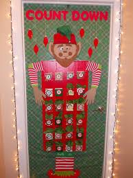 christmas office door decorating. Modren Office 2013 Christmas Office Door Decoration Advent Calendar Made From Cardboard In Office Door Decorating A