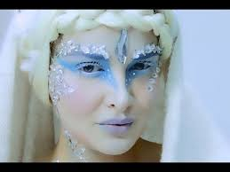 snow queen fantasy makeup tutorial you