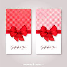 Gift Card Templates Gift Cards Template Vector Free Download Km