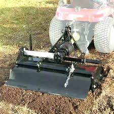 simplicity inch tow behind garden tiller tractor supply small for used attachment