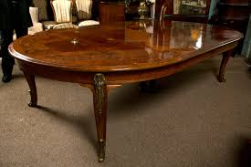 Inlaid Dining Table French Louis Xv Style Inlaid Oval Dining Table At 1stdibs