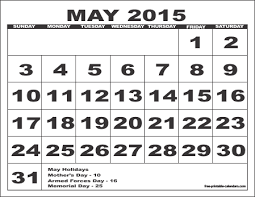 calendar for the month of may 2015 free printable calendars free printable calendars