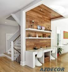 small home office desk ideas. Absolutely Love The Timbers Running Up Wall And To Ceiling Which Not Only Creates Study Area But Also Adds Warmth Interior. Small Home Office Desk Ideas F