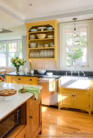 Yellow Country Kitchens Kitchen Design T To Decorating
