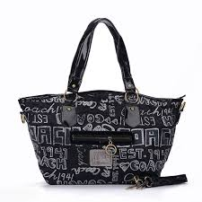 Perfect Coach Legacy In Signature Jacquard Medium Black Totes Ewl Sale UK  GY6ZO