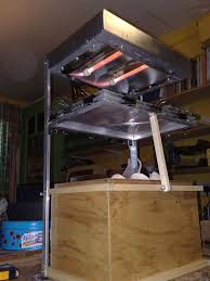picture of vacuum forming rig
