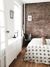 Graphy Bedroom Sunny Bedroom With Ikea Besta Pia Wallen Exposed Brick Wall And