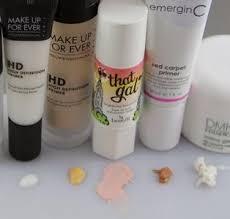 makeup primer for acne e skin and oily skin