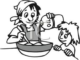 cooking clipart black and white. Contemporary Clipart Baking20clipart On Cooking Clipart Black And White Panda