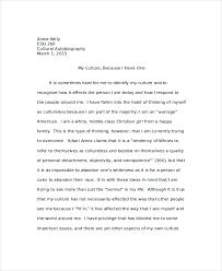 autobiography example premium templates cultural autobiography example