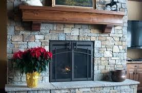 fireplace door glass fireplce fireplace glass door installation instructions