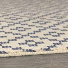 lattice area rug simple indigo threshold blue