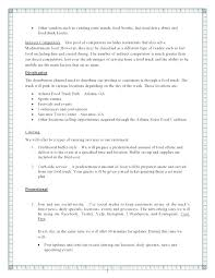 small business startup plan sample business plan startup sample company elegant food truck business