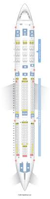 Seat Map Airbus A340 200 342 South African Airways Find