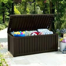 black outdoor storage box outdoor patio furniture storage box patio deck storage garden furniture storage box