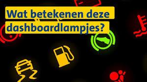 Dashboardlampjes Anwb Wegenwachttip