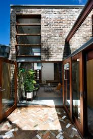 Living Room Extension David Boyle Extends Sydney Terrace With Reclaimed Brick