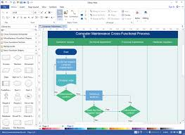 How To Make A Flowchart In Powerpoint How To Export Flowchart To Power Point