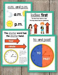 Telling Time Activity Pack Telling Time Activities