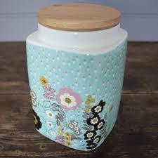 Retro Kitchen Storage Jars Pretty Retro Medium Storage Jar Kitchen Storage Shop By Product