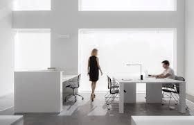 black and white office. Alicante: Cointec Offices By Dot Partners With Egoa Chairs For Working And Visitors Black White Office K