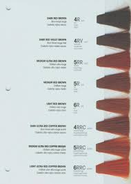 Rusk Toner Chart Rusk Hair Color Conversion Chart Lajoshrich Com