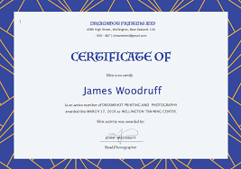 Free Editable Certificate Templates For Word Unique Editable Certificate Template Projet48