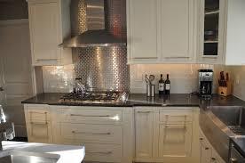 kitchen backsplash stainless steel tiles:  images about live for tile kitchens on pinterest stove subway tile backsplash and travertine