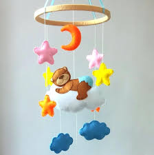 mobile baby crib bed bell
