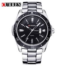 CURREN Бизнес <b>Wristwatch случайных</b> военных <b>кварц</b> Спорт ...