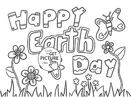 Printable Earth Day Coloring Pages Verfutbol