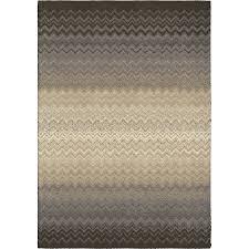 orian rugs waving chevron gray indoor novelty area rug common 8 x 11