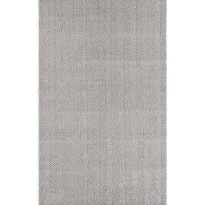 herringbone cotton grey 9 ft x 12 ft area rug