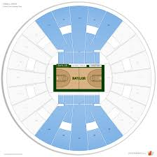Ferrell Center Baylor Seating Guide Rateyourseats Com