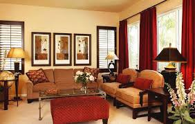 simple brown living room ideas. Simple Room Decorating Ideas Red Velvet Fabric Window Curtains With Living Color Brown Iron Curtain Rods Light Chocolate Sofa Latest W