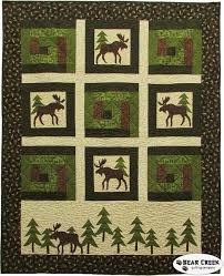 Moose on the Loose - Moose in the Cabin Free Quilt Pattern &  Adamdwight.com