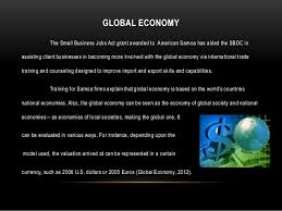 16 global economy the small business jobs business valuation jobs