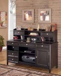 home office desk and hutch. Devrik Home Office Desk Carlyle Hutch Short And