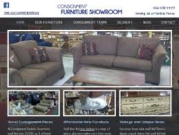 Consignment Furniture ShowRoom Retail Shop
